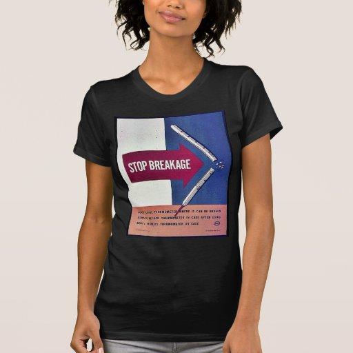 Pare la fractura camisetas