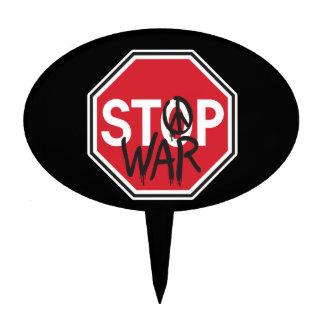 Pare la guerra decoración para tarta