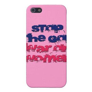Pare la guerra del GOP en mujeres iPhone 5 Fundas