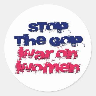 Pare la guerra del GOP en mujeres Etiqueta Redonda