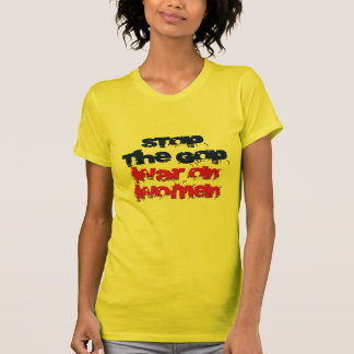 Pare la guerra del GOP en mujeres T-shirt