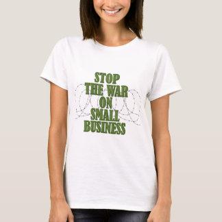 Pare la guerra en las camisetas de las señoras de