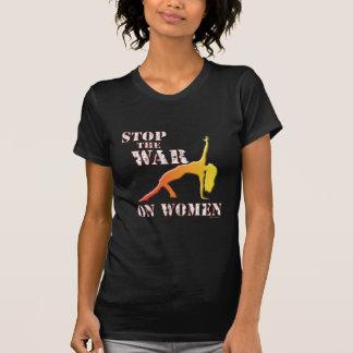 ¡Pare la guerra en mujeres! Camiseta