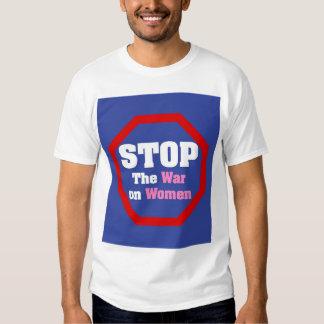 Pare la guerra en mujeres playera