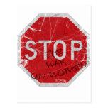 Pare la guerra en mujeres postales