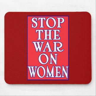 Pare la guerra en mujeres tapete de ratones