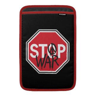 Pare la guerra funda  MacBook