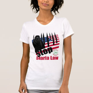 PARE LA LEY de SHARIA (los E.E.U.U.) T Shirts
