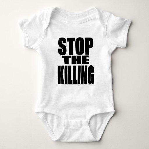 Pare la matanza - proteste ruidoso y orgulloso playera