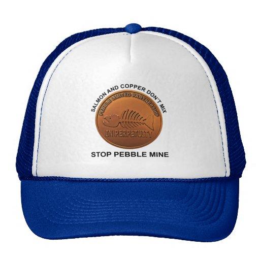 Pare la mina del guijarro - penique de la mina del gorras