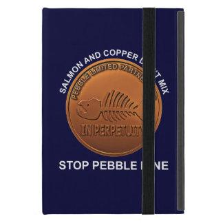 Pare la mina del guijarro - penique de la mina del iPad mini carcasa