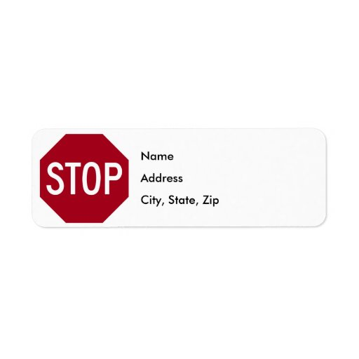 Pare la muestra etiqueta de remite