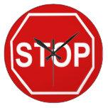 Pare la muestra reloj de pared