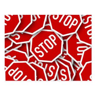 Pare la muestra tarjetas postales