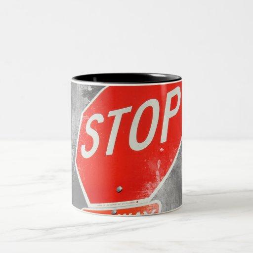 Pare la muestra tazas de café
