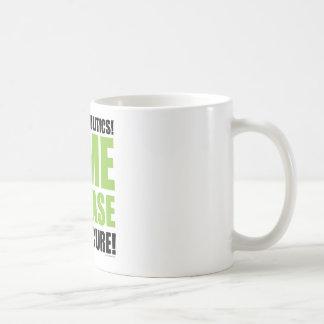 Pare la política taza de café