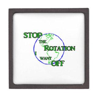 Pare la rotación cajas de regalo de calidad