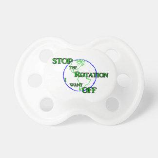 Pare la rotación chupetes de bebé