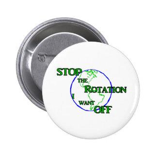 Pare la rotación pin
