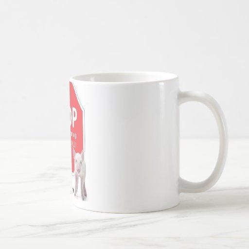 Pare la serie 1 de las granjas de la fábrica taza de café