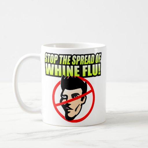 Pare la taza de la gripe del gimoteo
