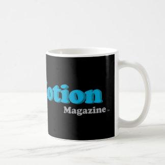 Pare la taza de la revista del movimiento