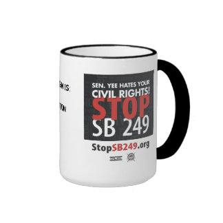 Pare la taza del SB 249