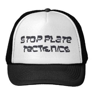 Pare la tectónica de placas gorras