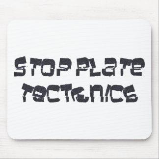 Pare la tectónica de placas tapete de ratón