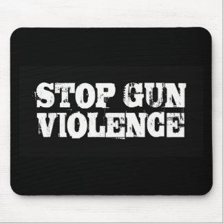 Pare la violencia armada alfombrillas de ratones