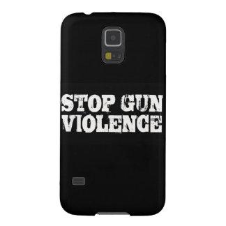 Pare la violencia armada carcasa de galaxy s5