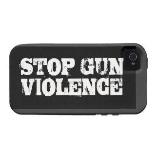 Pare la violencia armada iPhone 4/4S carcasa