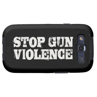 Pare la violencia armada galaxy SIII cárcasa