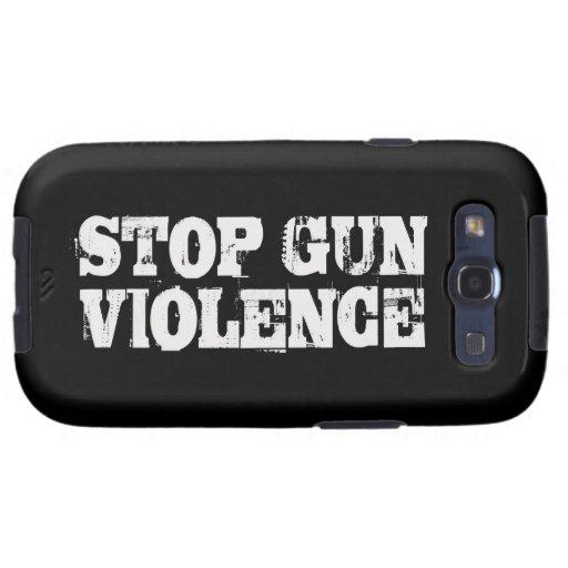 Pare la violencia armada galaxy SIII coberturas