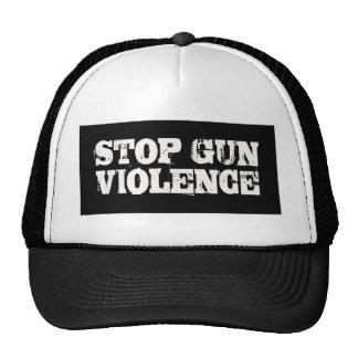 Pare la violencia armada gorro