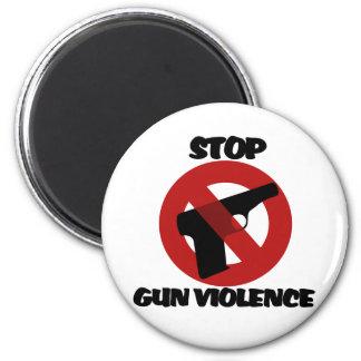 Pare la violencia armada iman para frigorífico