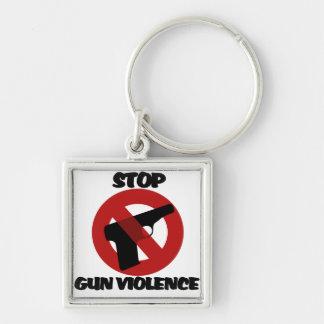 Pare la violencia armada llaveros