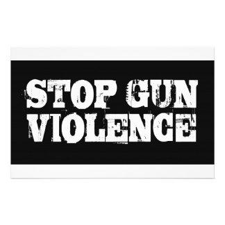 Pare la violencia armada  papeleria