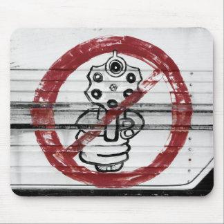 ¡Pare la violencia armada! Tapetes De Ratón
