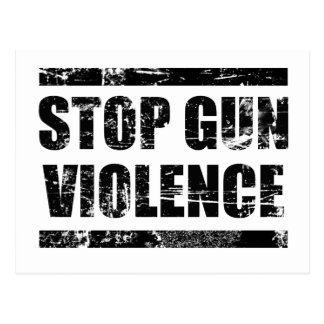 Pare la violencia armada postales