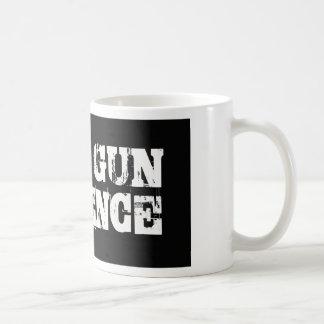 Pare la violencia armada taza clásica