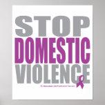 Pare la violencia en el hogar posters