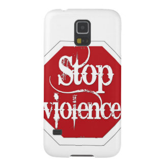 Pare la violencia fundas para galaxy s5