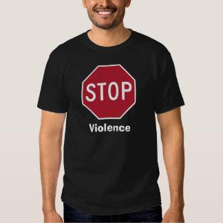 Pare la violencia playeras