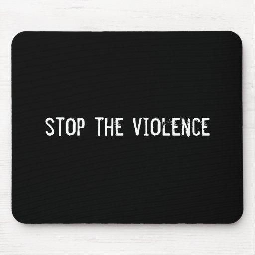 pare la violencia tapetes de ratones