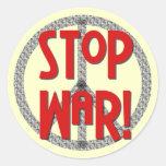 Pare las camisetas y los regalos del símbolo de etiqueta redonda