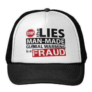 Pare las mentiras sobre el calentamiento del plane gorras