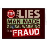 Pare las mentiras sobre el calentamiento del plane tarjeton