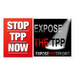PARE las tarjetas de visita de TPP