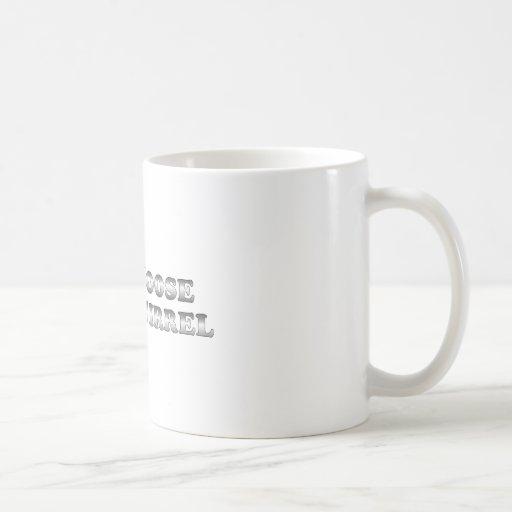 Pare los alces y la ardilla - básicos taza básica blanca